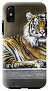 Ranu The Sumatran Tiger IPhone X Tough Case