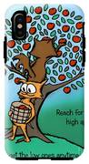 Reach For The High Apples IPhone X Tough Case