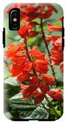 Red Flower IPhone X Tough Case