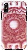 Red Ornamental Design. IPhone X Tough Case