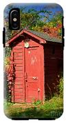 Red Outhouse IPhone X Tough Case