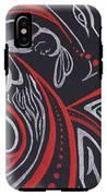 Red Skin IPhone X Tough Case