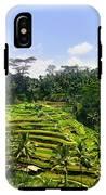 Rice Terrace In Bali IPhone X Tough Case