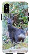 Roe Buck In Woodland IPhone X Tough Case