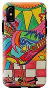 Rooster On Lookout  IPhone X Tough Case
