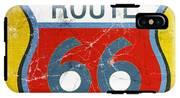 Route 66 IPhone X Tough Case