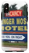 Route 66 - Munger Moss Motel Sign IPhone X Tough Case