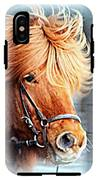Running In The Fields, Waving My Golden Mane  IPhone X Tough Case