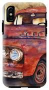 Rusty Crusty Ford Truck IPhone X Tough Case