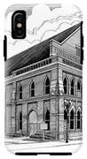 Ryman Auditorium In Nashville Tn IPhone X Tough Case