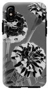 Scotch-stripe Marigolds IPhone X Tough Case