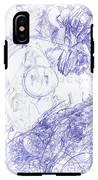 Screaming Serpent IPhone X Tough Case