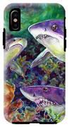 Sharks IPhone X Tough Case