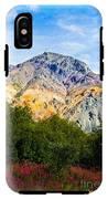 Sheep Mountain Alaska   IPhone X Tough Case