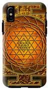Shri Yantra Gold Lakshmi IPhone X Tough Case