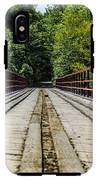 Sitting On A Bridge IPhone X Tough Case