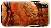 Slot Canyon 3d Wall Hanging IPhone X Tough Case