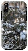Snow Covered Branches IPhone X Tough Case