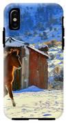 Snow Dancer  IPhone X Tough Case