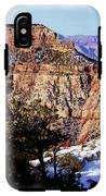 Snowy Grand Canyon Vista IPhone X Tough Case