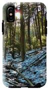 Snowy Valley IPhone X Tough Case