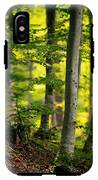Spring Green Vertical Forest  IPhone X Tough Case