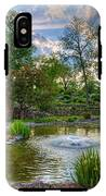 Spring In Harmon Park IPhone X Tough Case