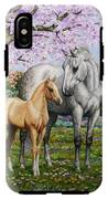 Spring's Gift - Mare And Foal IPhone X Tough Case
