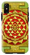 Sri Gold Yantra IPhone X Tough Case