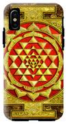 Sri Lakshmi Yantra IPhone X Tough Case