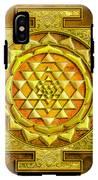 Sri Yantra Gold Stone IPhone X Tough Case