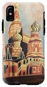 St Basil's Cathedral Moscow IPhone X Tough Case