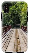 Standing On A Bridge IPhone X Tough Case