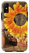 Stillife With  The Sunflower And Pumpkins IPhone X Tough Case
