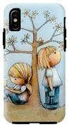 Stop And Smell The Flowers  IPhone X Tough Case