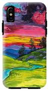 Stormy Skies IPhone X Tough Case