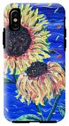 Sun Flowers And Wind IPhone X Tough Case