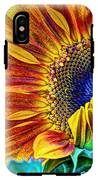 Sunflower Abstract IPhone X Tough Case