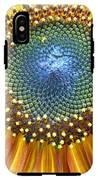Sunflower Center IPhone X Tough Case