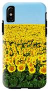 Sunflower Field, North Dakota, Usa IPhone X Tough Case