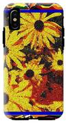 Sunflowers In The Park IPhone X Tough Case