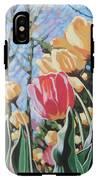 Sunlit Tulips IPhone X Tough Case