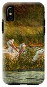 Pelicans Rest IPhone X Tough Case