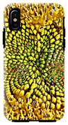 Swirling Sunflower Bloom IPhone X Tough Case