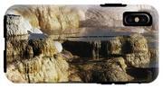 Terraces, Mammoth Hot Springs IPhone X Tough Case