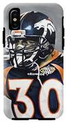 Terrell Davis  IPhone X Tough Case