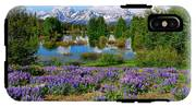 Teton Spring Lupines IPhone X Tough Case
