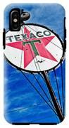 Texaco Gasoline IPhone X Tough Case