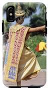 Thai Dancer At Loy Krathong Festival IPhone X Tough Case