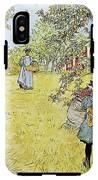 The Apple Harvest IPhone X Tough Case